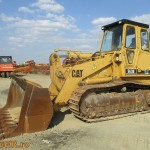 Incarcator frontal pe senile Caterpillar 963B